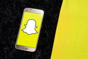 Snapchat - reklama firmy na wesoło
